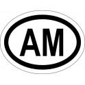 Naklejka AM typ 96 odblask