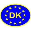 Naklejka DK typ 96eu połysk