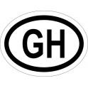 Naklejka GH typ 96 biały odblask
