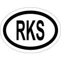 Naklejka RKS typ 96 odblask