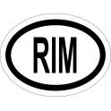 Naklejka RIM typ 96 odblask