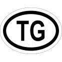 Naklejka TG typ 96 odblask