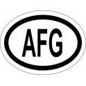 Naklejka AFG typ 96 odblask