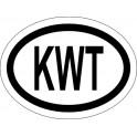 Naklejka KWT typ 96 odblask