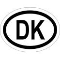 Naklejka DK typ 96 połysk