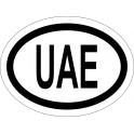 Naklejka UAE typ 96 połysk