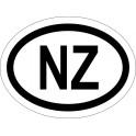 Naklejka NZ typ 96 biały odblask