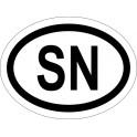 Naklejka SN typ 96 połysk