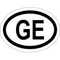 Naklejka GE typ 96 odblask