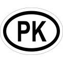 Naklejka PK typ 96 połysk