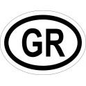 Naklejka GR typ 96 odblask