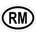 Naklejka RM typ 96 odblask