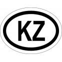 Naklejka KZ typ 96 odblask
