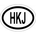 Naklejka HKJ typ 96 połysk