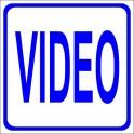 Naklejka Video