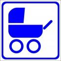 Naklejka dla wózków dziecinnych