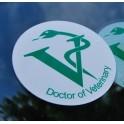 Naklejka Doctor of Veterinary
