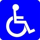 Naklejka MPK niepełnosprawni
