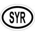 Naklejka SYR  typ 96 odblask