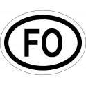 Naklejka FO typ 96 odblask