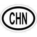 Naklejka CHN typ 96 połysk