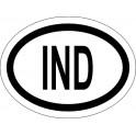 Naklejka IND typ 96 odblask
