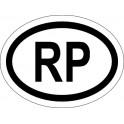 Naklejka RP  typ 96 odblask