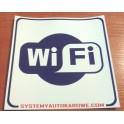 Naklejka WiFi personalizowana 15cm