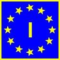 Naklejka I typ EU połysk