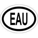 Naklejka EAU typ 96 odblask