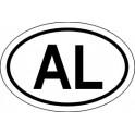 Naklejka AL typ 96tb odblask