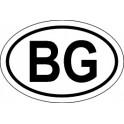 Naklejka BG typ 96tb odblask