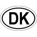 Naklejka DK typ 96tb odblask