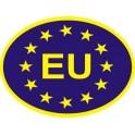 Naklejka EU typ 96eu połysk