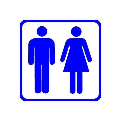 Naklejki piktogramy kobiety mężczyźni