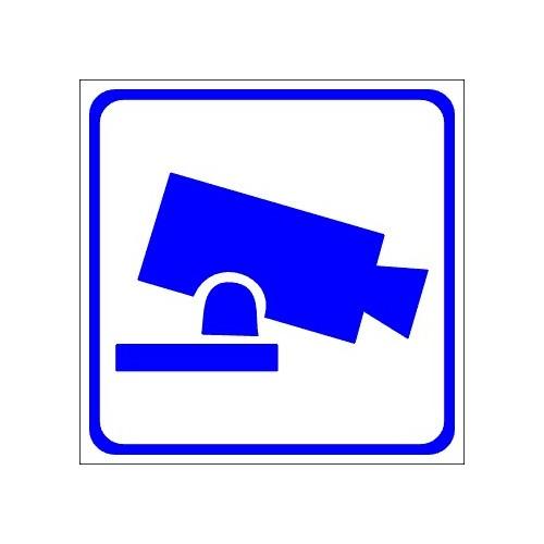 Naklejki piktogramy monitoring