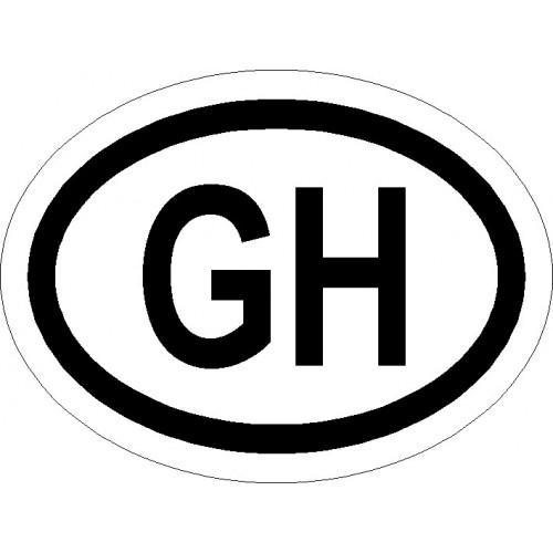 Naklejki kraj pojazdu Ghana