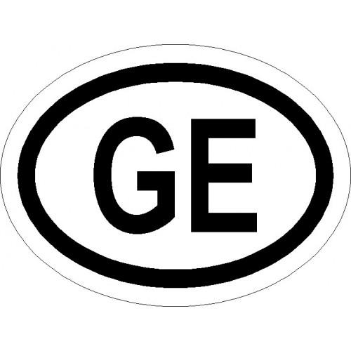 Naklejki kraj pojazdu Gruzja