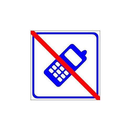 Naklejki piktogramy nie telefonować
