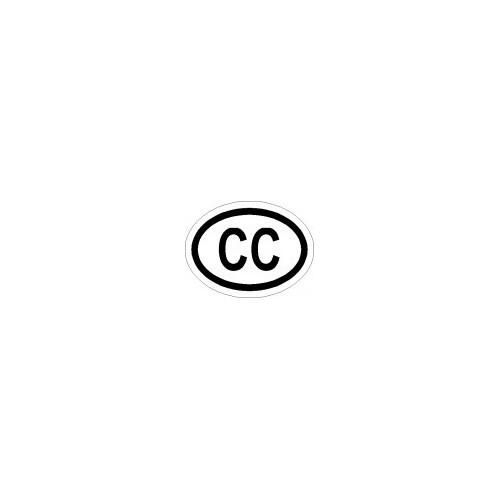 Naklejki kraj pojazdu Korpus Konsularny