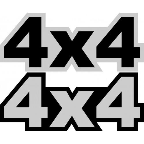 Naklejki 4x4