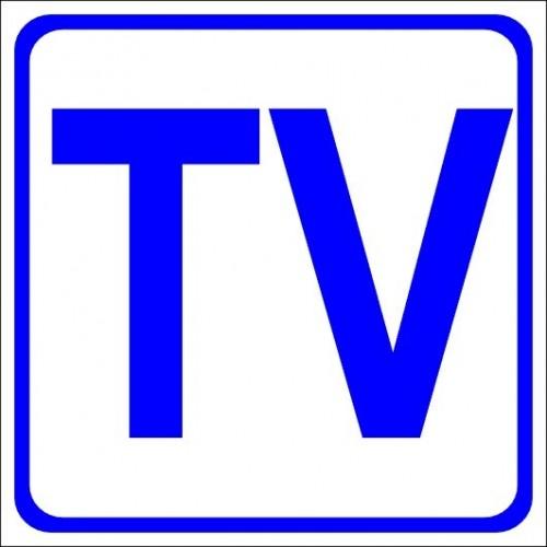 Naklejki piktogramy TV Audio Video