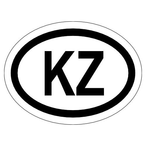 Naklejki kraj pojazdu Kazachstan