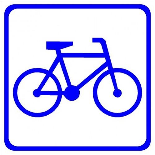 Naklejki piktogramy rowery
