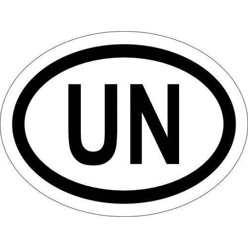 Naklejki kraj pojazdu ONZ