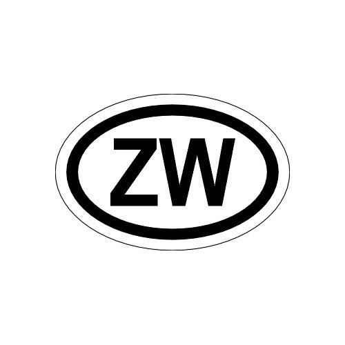 Naklejki kraj pojazdu Zimbabwe