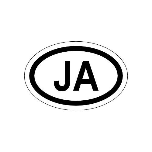 Naklejki kraj pojazdu Jamajka