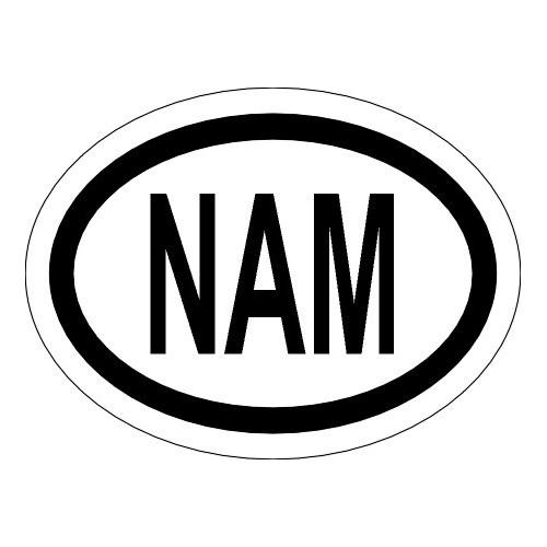 Naklejki kraj pojazdu Namibia