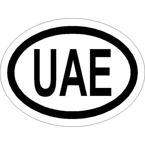 Naklejki kraj pojazdu Zjednoczone Emiraty Arabskie