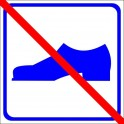 Sticker without shoes